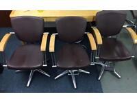 X2 salon chairs and X2 Basins