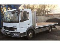 Mercedes Atego 7.5 tonne flat. 1st class truck.