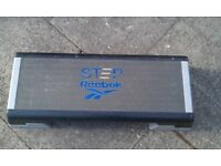 Reebok step platform with height adjustment blocks - fitness - aerobics
