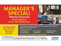 Willerby Static caravan for sale, Cherry Tree, Norfolk Broads, Nr Gorleston Beach, Nr Great Yarmouth