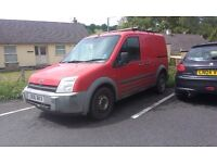 Red Ford Transit Connect 1.8 diesel with roof rack. Great van, only selling due to upgrade