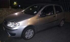 Fiat Punto 54 plate