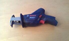 Bosch GSA10.8V-LIN Cordless Sabre Reciprocating Saw Bare Unit