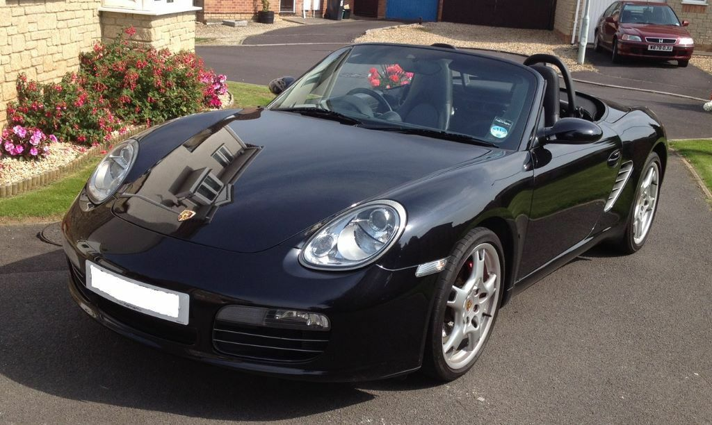 for sale porsche boxster s 987 2005 black metallic with. Black Bedroom Furniture Sets. Home Design Ideas
