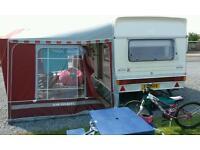 Abi jubilee envoy 4 berth caravan plus seasonal pitch.