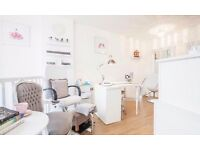 Chair rental for self employed hair stylist £150 per week