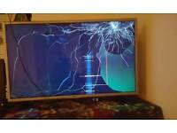 32inch tv for sale screen repair needed