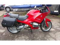 1994 BMW R1100RS Red motorbike under 46k