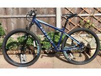 "CARRERA HELLCAT Mountain Bike 29er 29"" wheels disc brake"