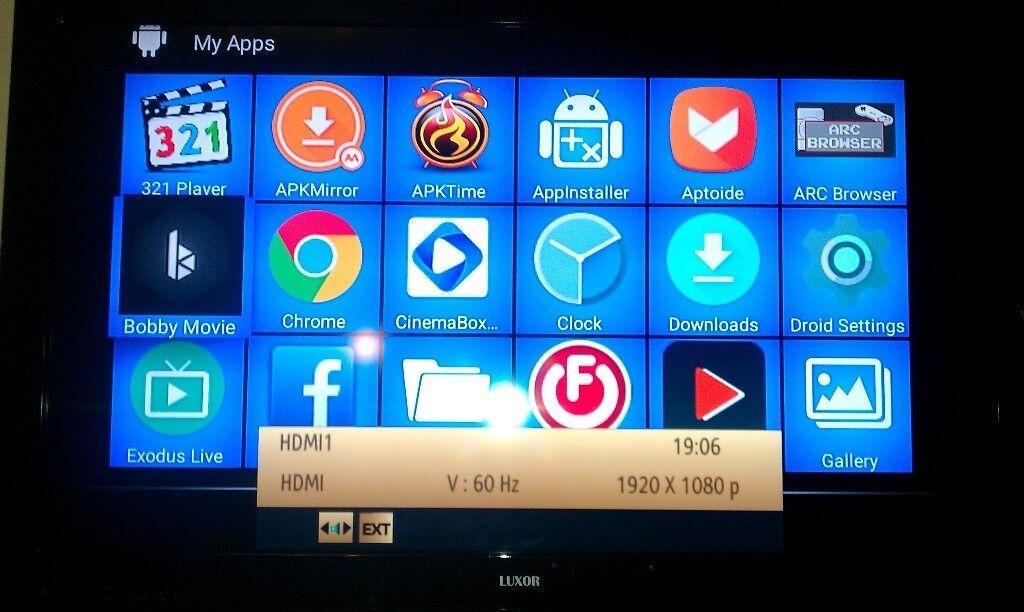 LUXOR 46CCFLT2 Full HD LCD TV FREVIEW 4 xHDMI, 2x SCART, 1x PC (VGA), 2x  USB MEDIA PLAYER INPUTS | in New Moston, Manchester | Gumtree