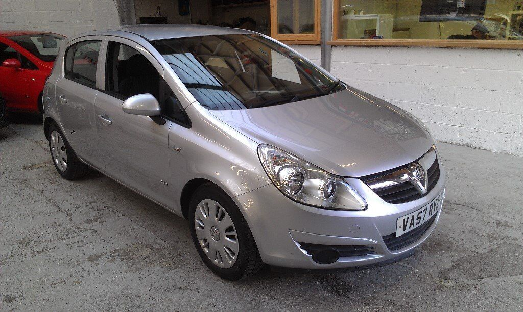 2008 VAUXHALL CORSA 1.2 CLUB A/C 5DOOR, HATCHBACK, SERVICE HISTORY, VERY CLEAN CAR, DRIVES LIKE NEW