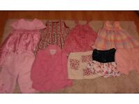 Beautiful girls clothes bundle age 1-1 1/2 years