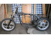 BMW R80Rt complete rolling chassis +