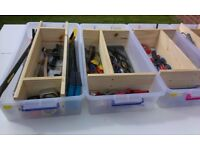 Trays and Buckets of Socket Sets and Tools £25 Each