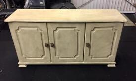 Wooden Sideboard / Chest Cabinet (with doors instead of drawers!!)
