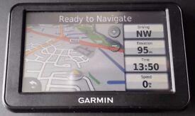 GARMIN nüvi 40 GPS Sat Nav UK & Ireland + MidWest, North West or West End Europe