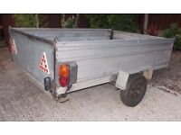 6FT x 4FT Car Trailer....... READY TO GO