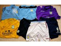 Aston Villa Squad Worn Gear Shirts and Tops