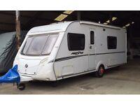 Swift Freestyle/Charisma 550, 2009 - 4 berth Caravan