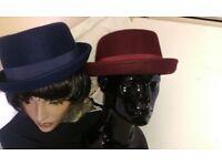 Unisex porkpie hat
