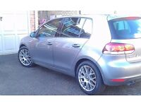 Volkswagen Golf 17 inch Team Dynamic Imola Alloy wheels and Tyres