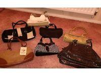 Selection of ladies handbags for sale, Total of 7 handbags.