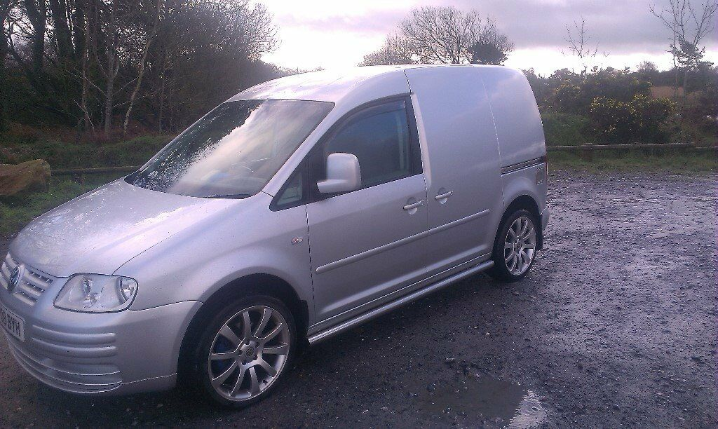 silver vw caddy van 1 9 tdi 104 in kingsteignton devon. Black Bedroom Furniture Sets. Home Design Ideas