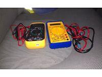 Digital LCD Muitimeter -----AC/DC TESTER VOLTMETER OHMS METER x 2
