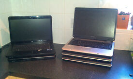 Joblot of 12 Laptops including 2x Apple.