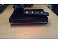 Bush freesat box fully working with remote control