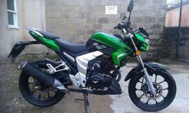 Lexmoto Venom 125 125cc Muscle Motorcyle Bike