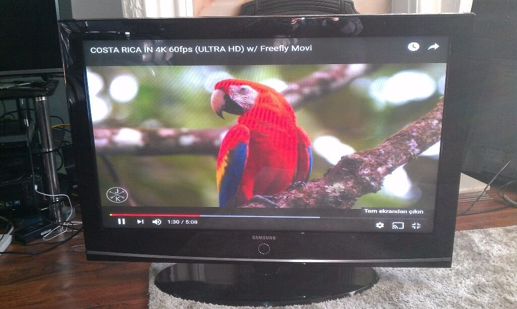 42 Samsung PS42C96 HD Ready Digital Freeview Plasma TV with Remote Control , GOOD CONDITION