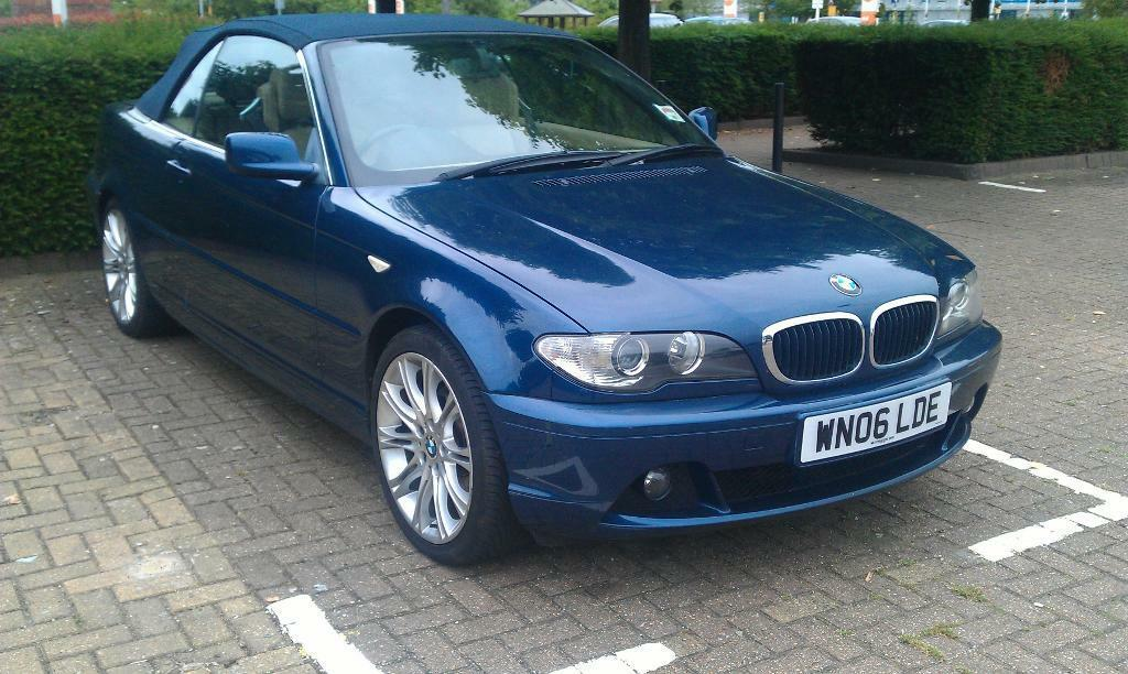 2006 BMW 320 CD E46 SE, CONVERTIBLE, CABRIO, FSH, MANUAL(6), TAX, MOT.