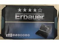 Erbauer Screwdriver bit set 113 pce
