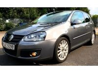 VERY RARE, LOW MILEAGE 2008 VW GOLF 1.4 TSI GT SPORT (TURBO SUPERCHARGED) 140BHP, SERVICE HISTORY