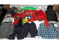 Bundle of 4-5 years boys clothing
