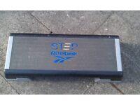 Reebok Step Stepper Platform Black Grey Blue