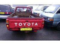 TOYOTA HILUX ANY CONDITION WANTED!!!!