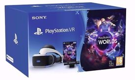 Sony PlayStation VR Starter Pack - With VR Worlds