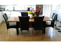 Stylish Kitchen/Dining Room Table and 6 Chairs