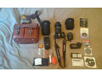 **RRP £1600** Canon 550D DSLR Bundle - with Tamron 18-270mm, Canon 60mm and more