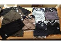 Northface tshirt & short set