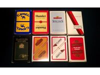 8 Packs Of Tobacco Product Promotional Playing Cards