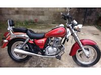 2012 Sinnis Vista ( same as Jinlun Lexmoto ) 12 month MOT ready to go