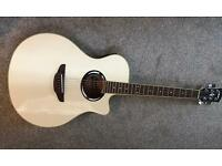 Yamaha apx 500ii electric acoustic guitar (vintage white)