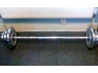 Bodymax 5 FT Spinlock Barbell With Collars & Chrome Weight Plates
