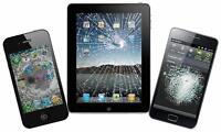 GLASS+LCD repairs for all iphones, ipods, ipads