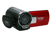 "Vivitar DVR 548HD 8.1MP Digital Camcorder/Camera - Red 8.1MP, 2.0"" Preview Screen, 4x Digital Zoom"