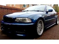 BMW 330 M3 Front End - Coilovers - Polybushed - 7 Series Rare Wheels - Leather - Stunning Car