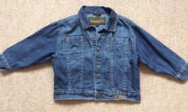 Age 2 Timberland denim jacket